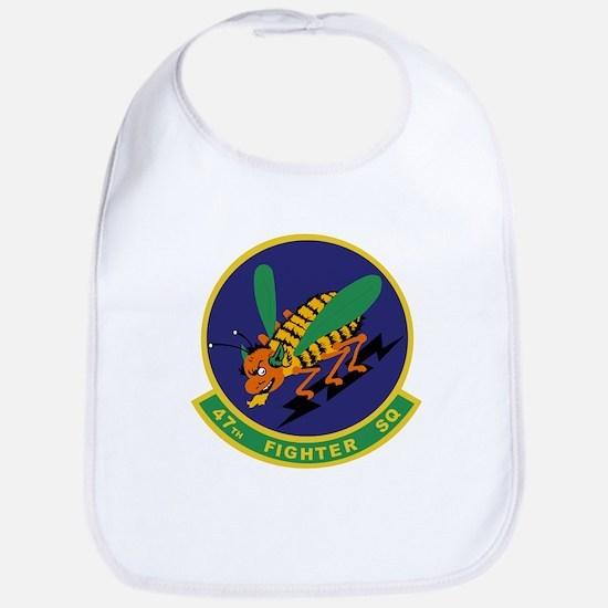 47th Fighter Squadron Bib