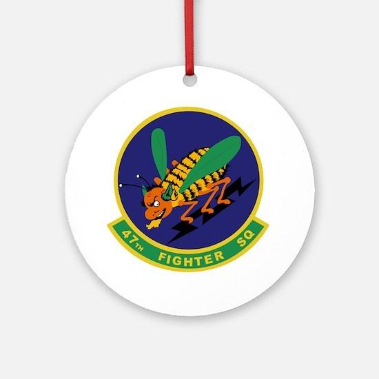 47th Fighter Squadron Ornament (Round)