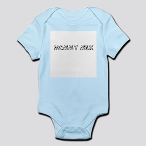Mommy Milk Cowprint Onesie