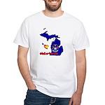 ILY Michigan White T-Shirt