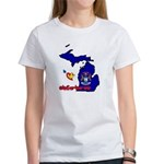 ILY Michigan Women's T-Shirt