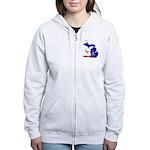 ILY Michigan Women's Zip Hoodie