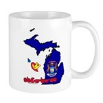 ILY Michigan Mug