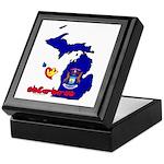 ILY Michigan Keepsake Box