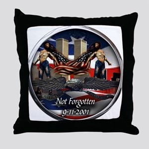 911 NOT FORGOTTEN Throw Pillow