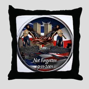 911 NOT FORGOTTEN Throw Pillow