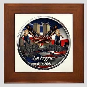 911 NOT FORGOTTEN Framed Tile