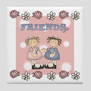 Friends Keepsake Tile Coaster