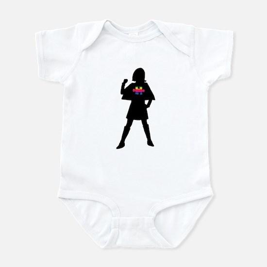 Spectrum Superheroes V2b Infant Bodysuit