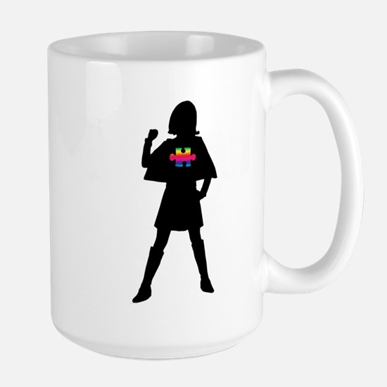 Spectrum Superheroes V2b Large Mug