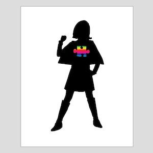 Spectrum Superheroes V2b Small Poster