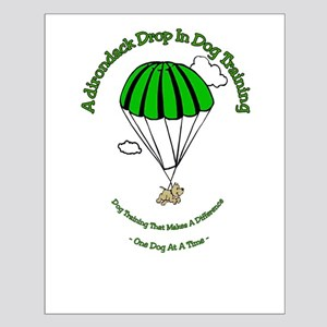 ADK Drop In Dog Training Small Poster