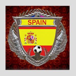 Spain Soccer Tile Coaster