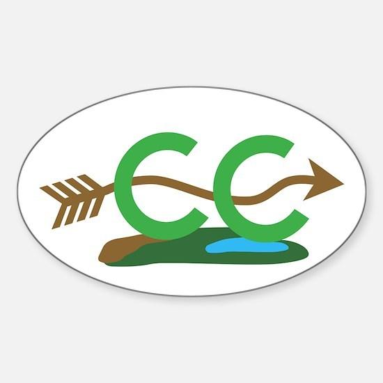 Cross Country Sticker (Oval)