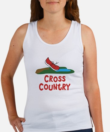 Cross Country Run Women's Tank Top