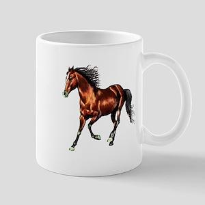 Cantering Bay Horse Mug