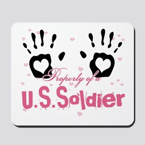 Property of a U.S. Soldier Mousepad