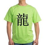 Dragon Kanji Green T-Shirt