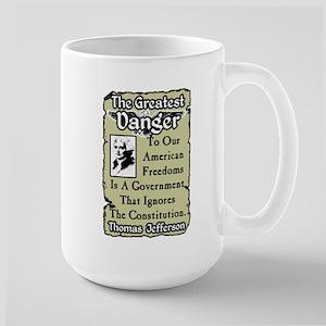 """Jefferson: The Greatest Danger"" Large M"