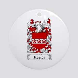 Roscoe Ornament (Round)