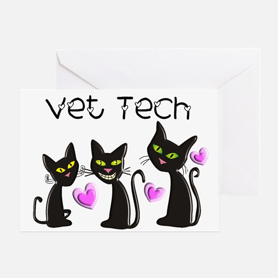 Vet Technician Greeting Card