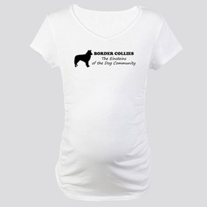 Border Collies Maternity T-Shirt