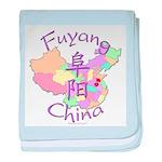 Fuyang China baby blanket