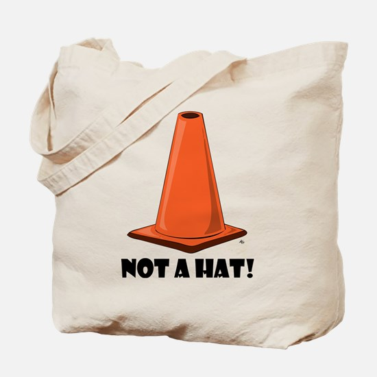 NOT A HAT 1w Tote Bag