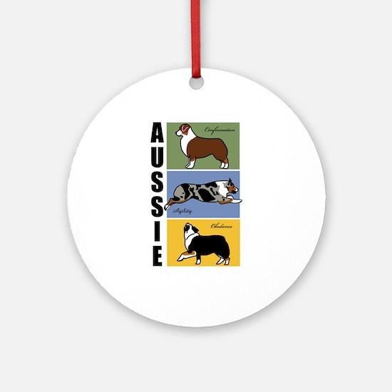 Aussie's Do It All Ornament (Round)