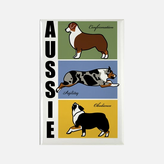 Aussie's Do It All Rectangle Magnet