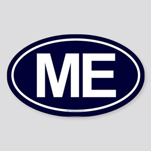 ME Oval Sticker (Oval)