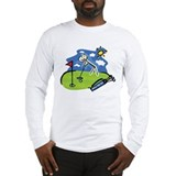 Golf evolution Long Sleeve T-shirts