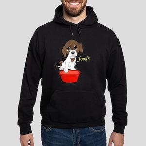Food? (dark apparel) Hoodie (dark)