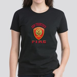 San Francisco Fire Department Women S T Shirts Cafepress