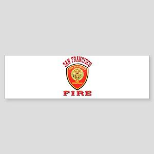 San Francisco Fire Department Sticker (Bumper)