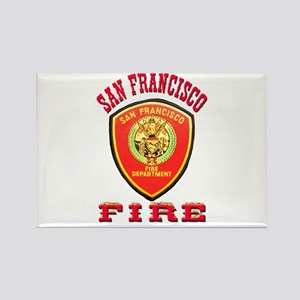 San Francisco Fire Department Rectangle Magnet
