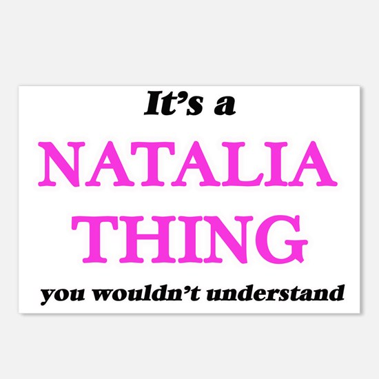 It's a Natalia thing, Postcards (Package of 8)