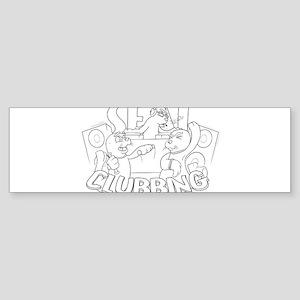 Seal Clubbing Sticker (Bumper)