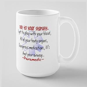 EMT/PARAMEDICS Large Mug