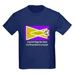 Glyph Pua Flag Kids Dark T-Shirt