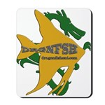 Dragonfish Logo Mousepad