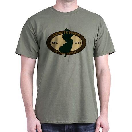New Jersey Est. 1787 Dark T-Shirt