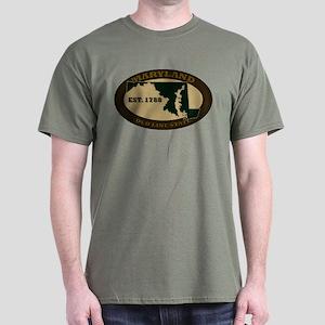 Maryland Est. 1788 Dark T-Shirt