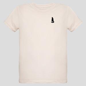Black Cat Organic Kids T-Shirt