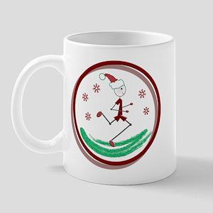 Holiday Runner Guy Mug