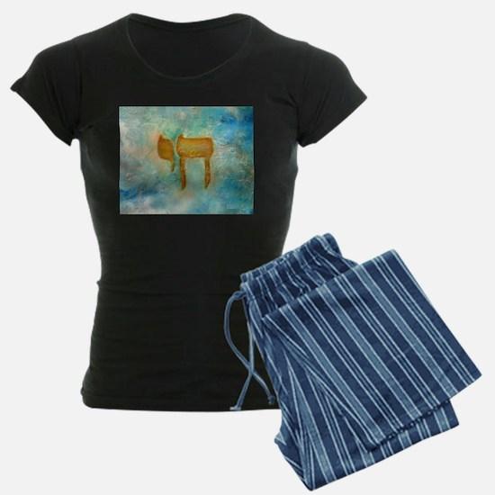 JEWISH HEBREW LETTER L'CHAYIM Pajamas
