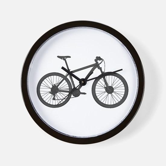 Cool Mountain biking Wall Clock