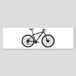 Very Dark Grey Hardtail Bumper Sticker