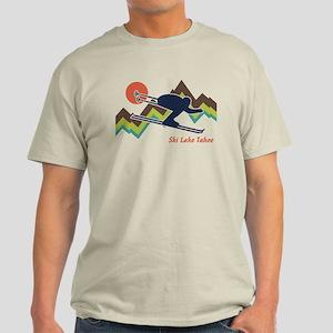 Ski Lake Tahoe Light T-Shirt
