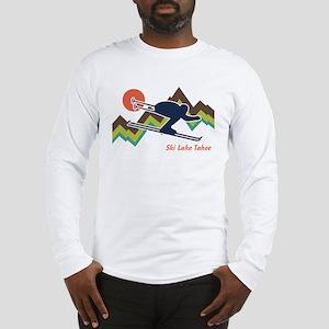 Ski Lake Tahoe Long Sleeve T-Shirt